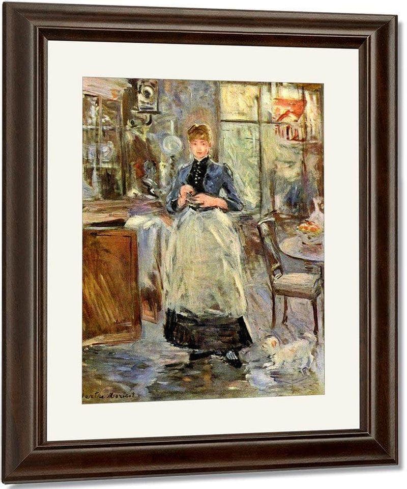In The Dining Room Berthe Morisot