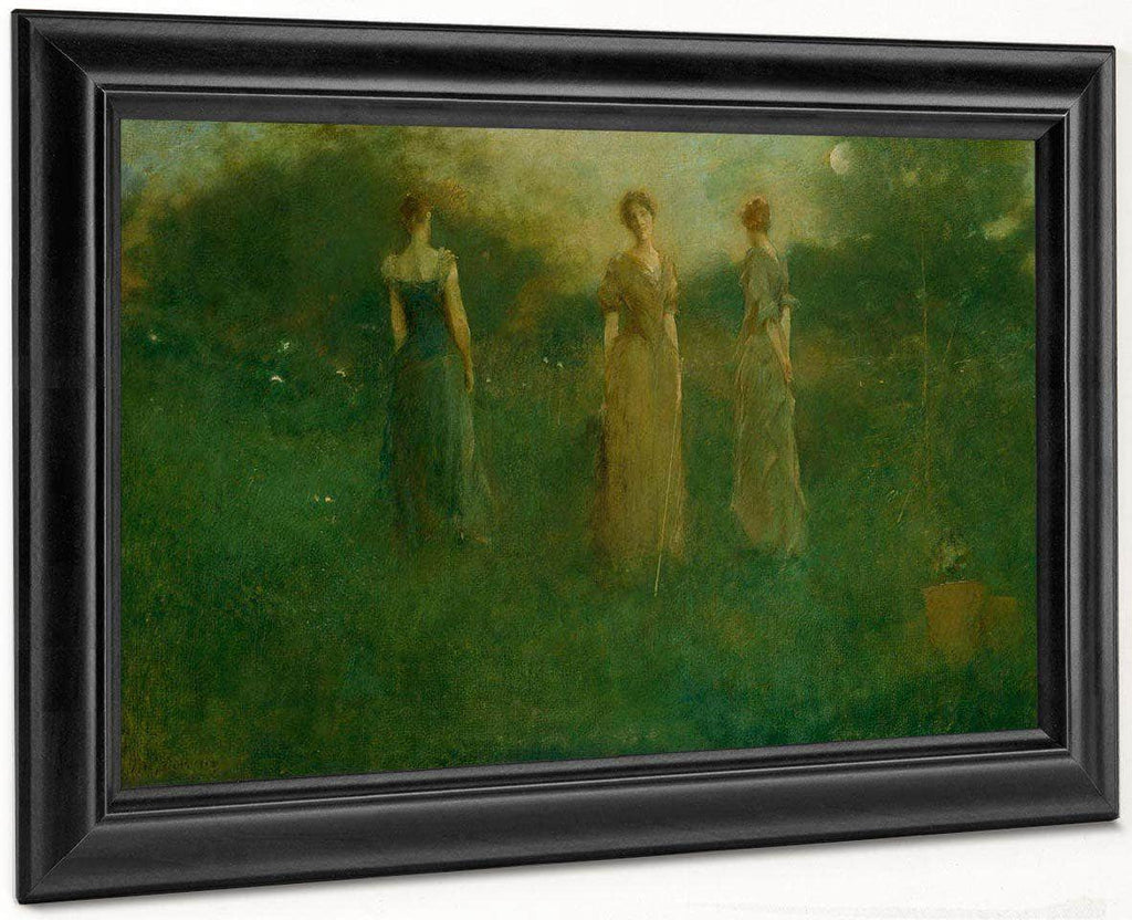 In The Garden By Thomas Wilmer Dewing