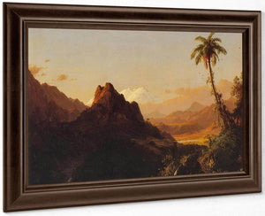 In The Tropics By Fredric Edwin Church