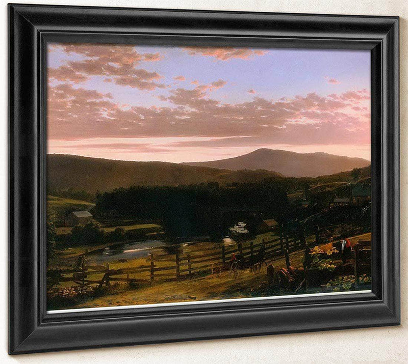 Ira Mountain Vermont By Frederic Edwin Church