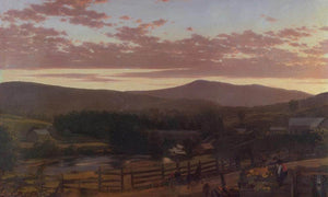 Ira Mountain Vermont By Fredric Edwin Church