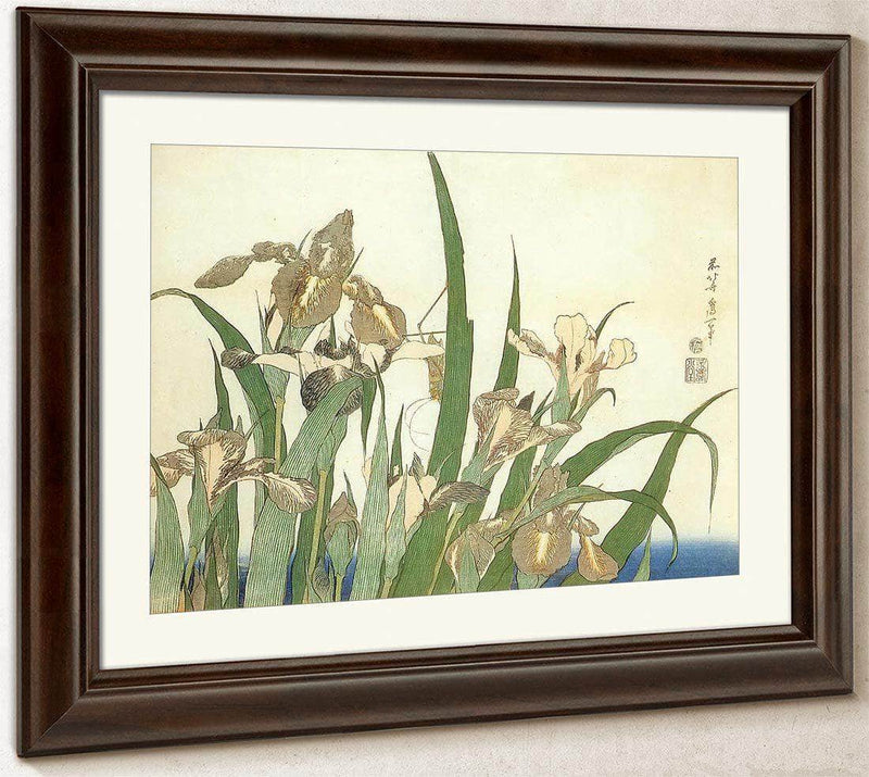 Irises By Hokusai