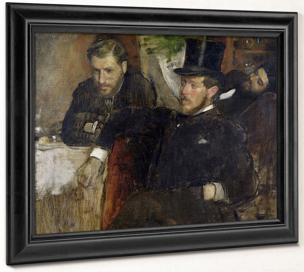 Jeantaud, Linet And Laine By Edgar Degas