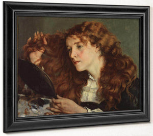 Jo The Beautiful Irish Girl By Gustave Courbet