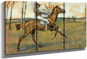 Jockey By Edgar Degas