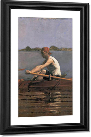 John Biglin In A Single Scull By Thomas Eakins