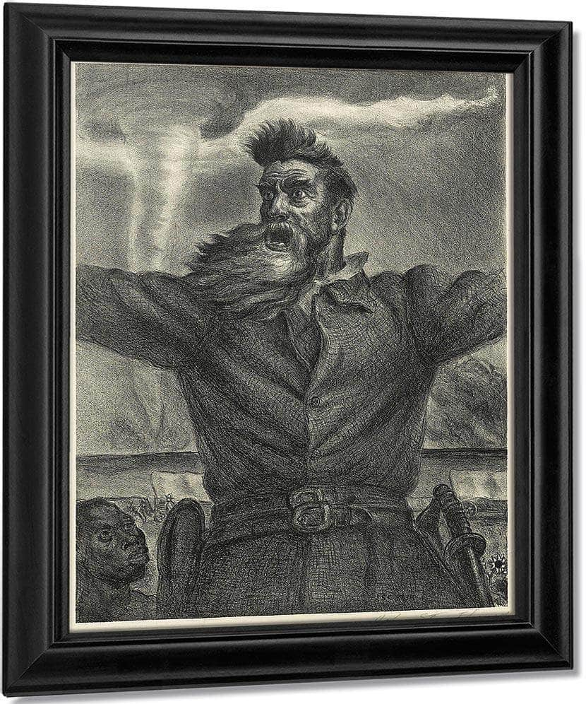 John Brown (C. 34), 1940 By John Steuart Curry