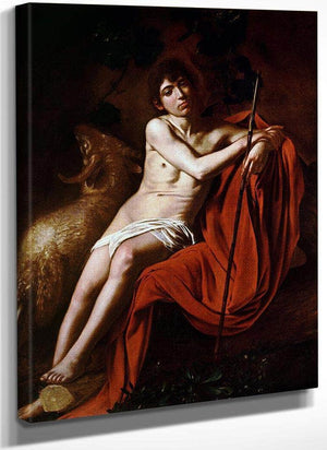 John The Baptist 1610 By Caravaggio