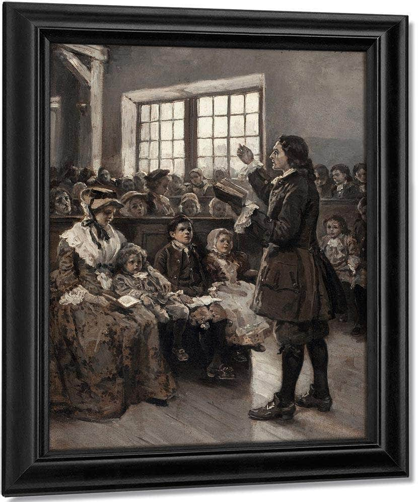 John Wesley Teaching His Sunday School 1897 By Alice Barber Stephens