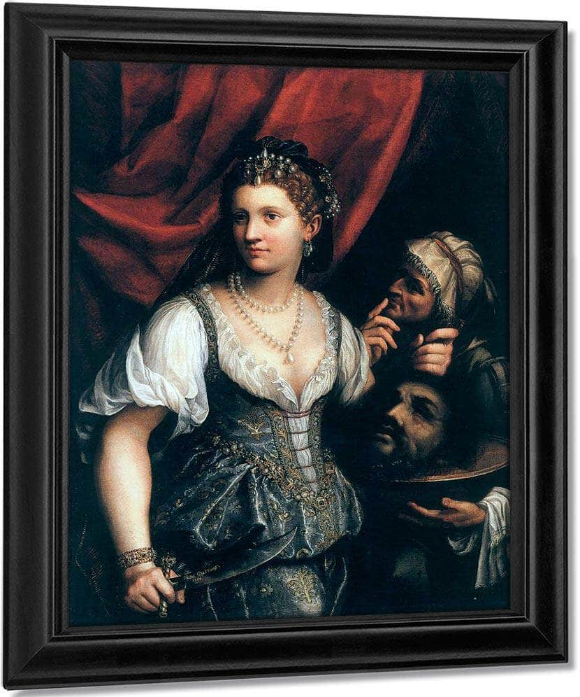 Judith With The Head Of Holophernes 1596 By Fede Galizia
