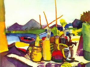 Kairouan Iii By August Macke