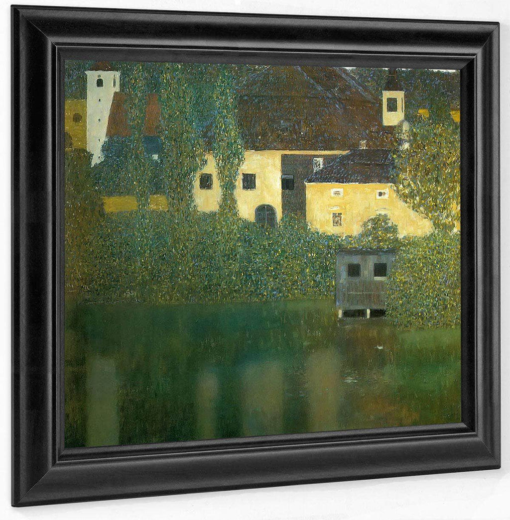 Kammer Castle On The Attersee I By Gustav Klimt