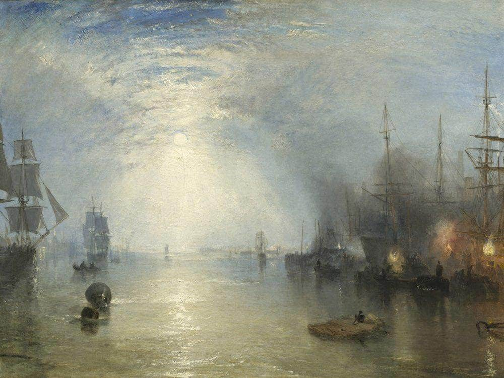 Keelmen Heaving In Coals By Moonlight By Joseph Mallord William Turner