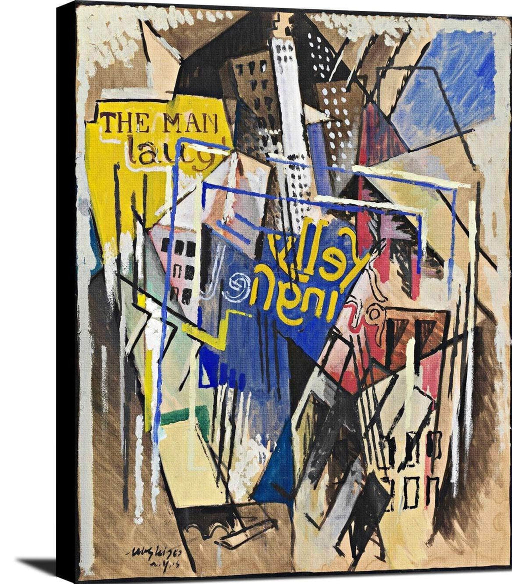 Kelly Springfield Painting Albert Gleizes Canvas Art