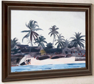 Key West Negro Cabins And Palms (A Bahama Fishing Village) By Winslow Homer