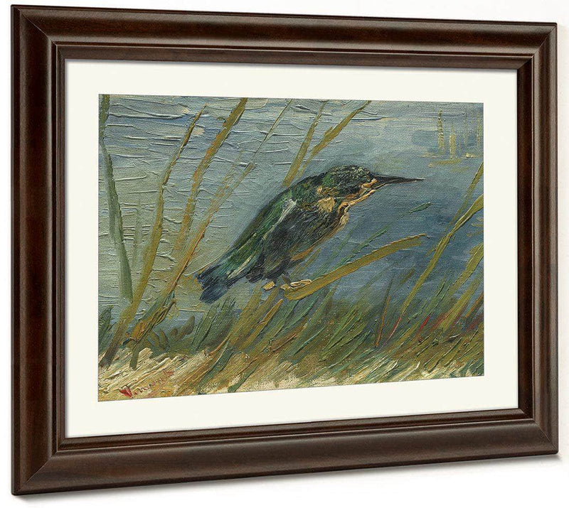 Kingfisher By The Waterside By Vincent Van Gogh