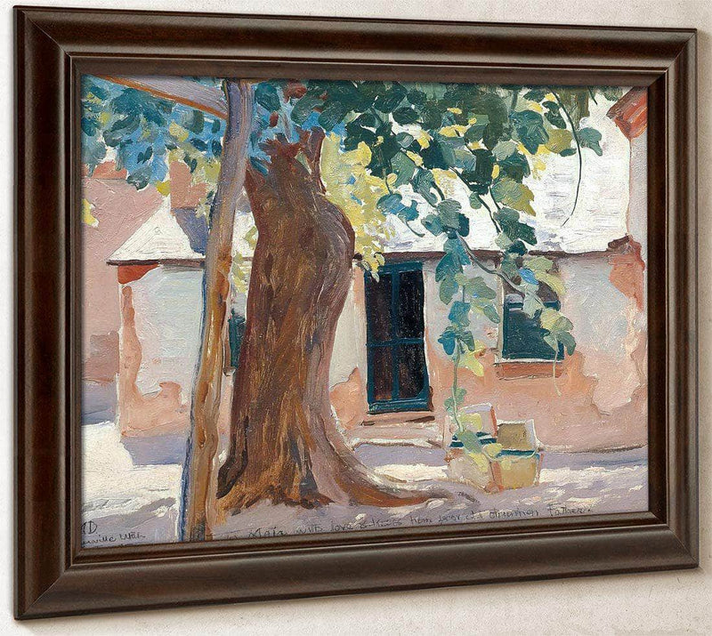 Kitchen Door By Maynard Dixon