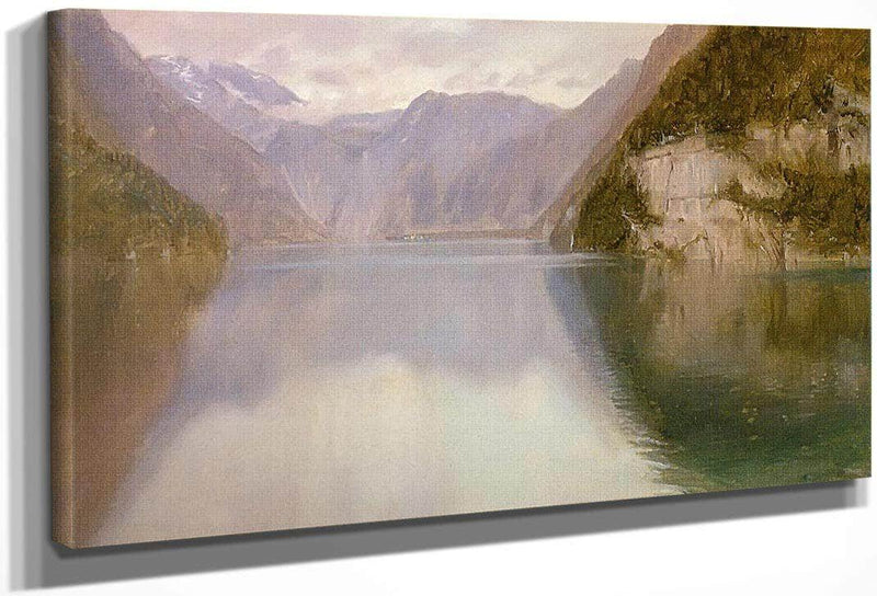 Konigssee Germany By Frederic Edwin Church