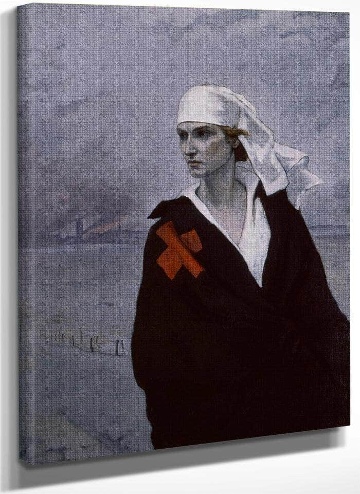 La France Croisee 1914 By Romaine Brooks