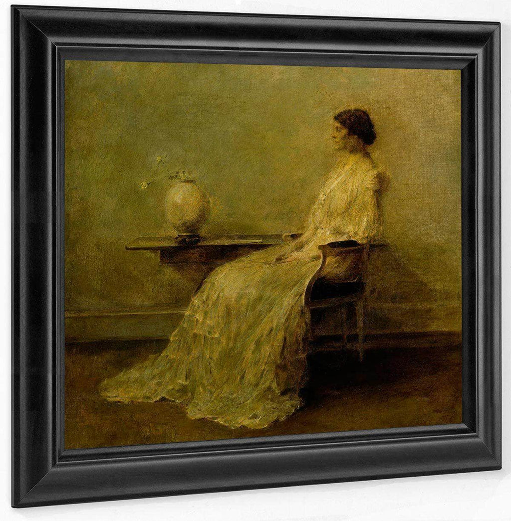 Lady In White (No. 2) By Thomas Wilmer Dewing