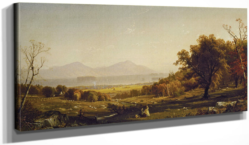 Lake George From Bolton's Landing By Alfred Thompson Bricher