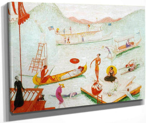Lake Placid By Florine Stettheimer