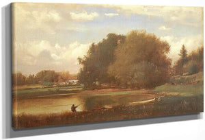 Landscape 1860 By George Inness