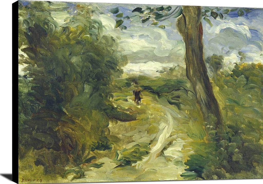 Landscape Between Storms Painting Auguste Renoir Canvas Art