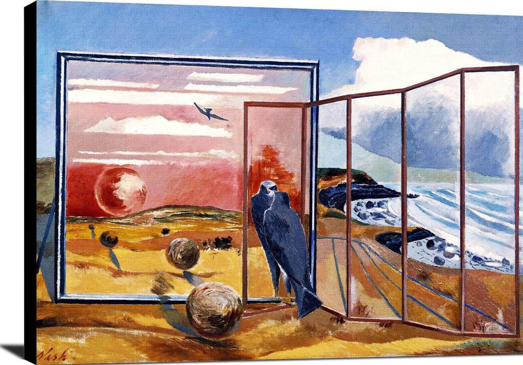 Landscape From A Dream Painting Paul Nash Canvas Art