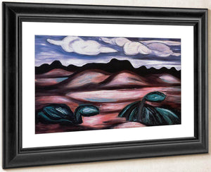 Landscape New Mexico By Marsden Hartley