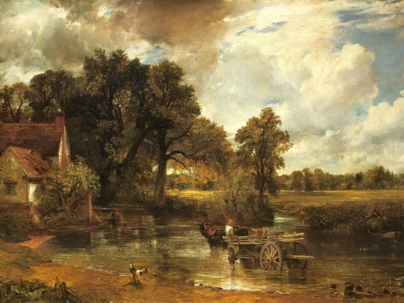 Landscape Noon ( The Hay Wain) By John Constable