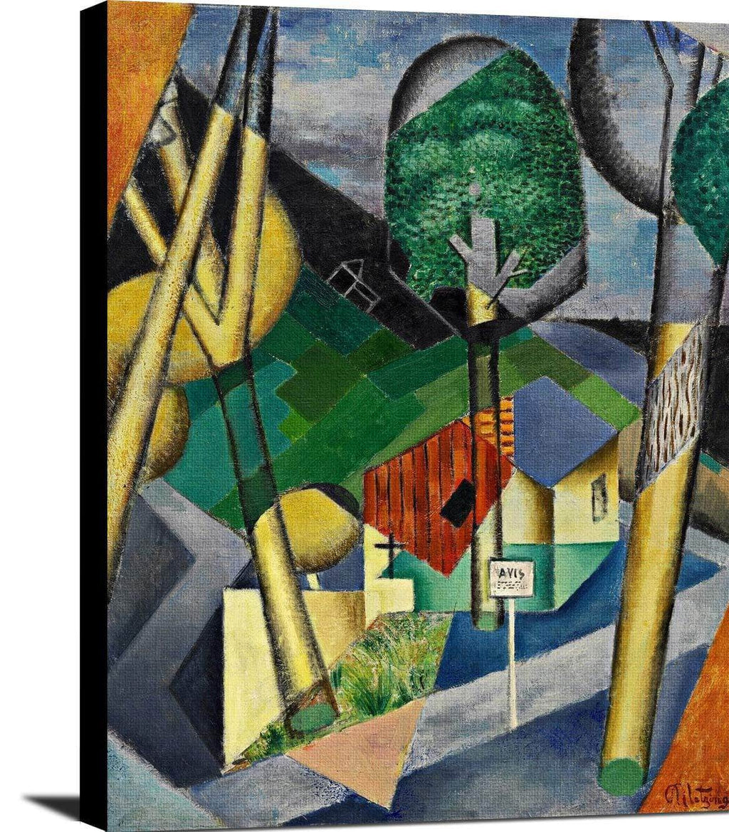 Landscape Painting Jean Metzinger Canvas Art