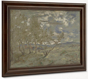Landscape Sketch 1865 By Theodore Rousseau