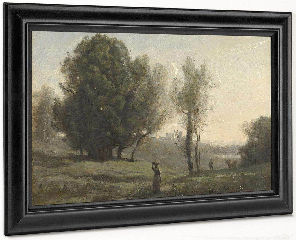 Landscape By Camille Corot