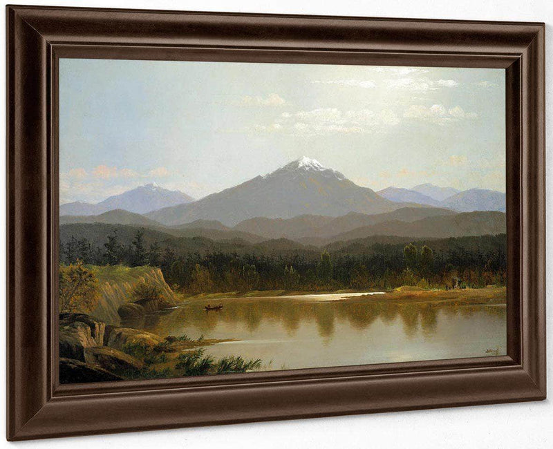 Laramie Peak By Albert Bierstadt