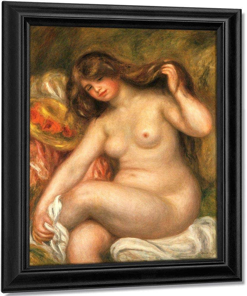 Large Bather By Pierre August Renoir