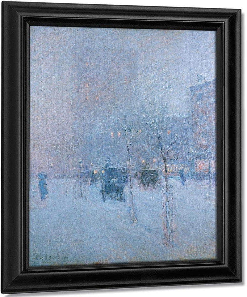 Late Afternoon New York Winter By Childe Hassam