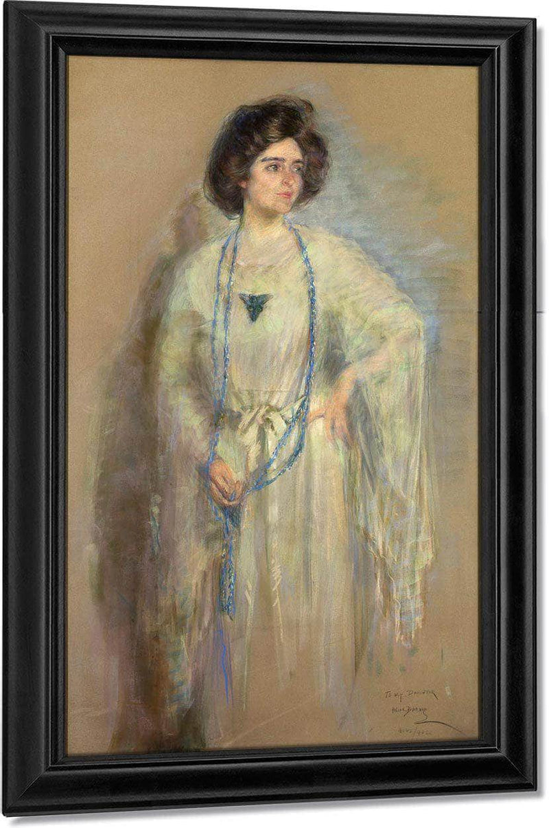 Laura In Whites By Alice Pike Barney