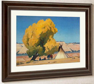 Lazy Autumn By Maynard Dixon