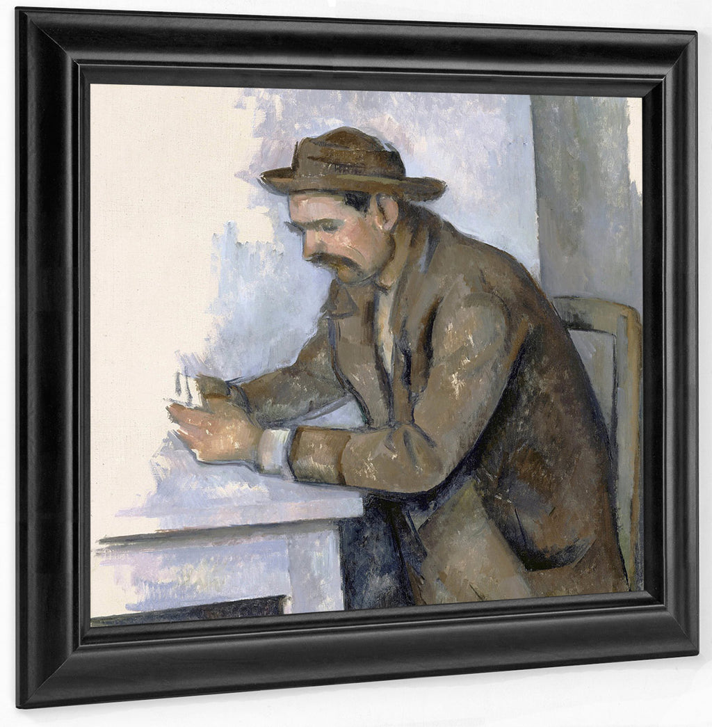 Le Joueur De Cartes (The Cardplayer) By Paul Cezanne