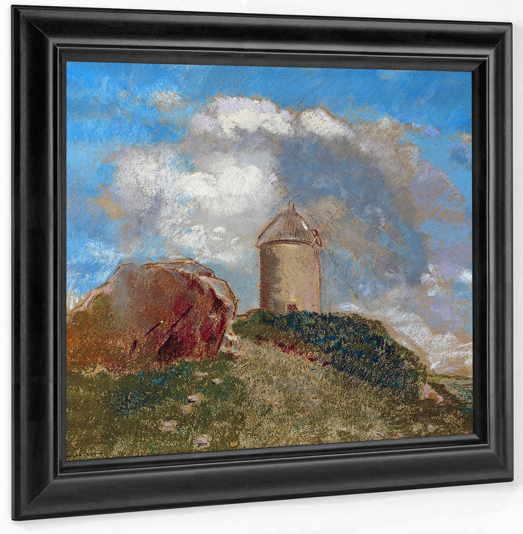 Le Moulin A Vent By Odilon Redon