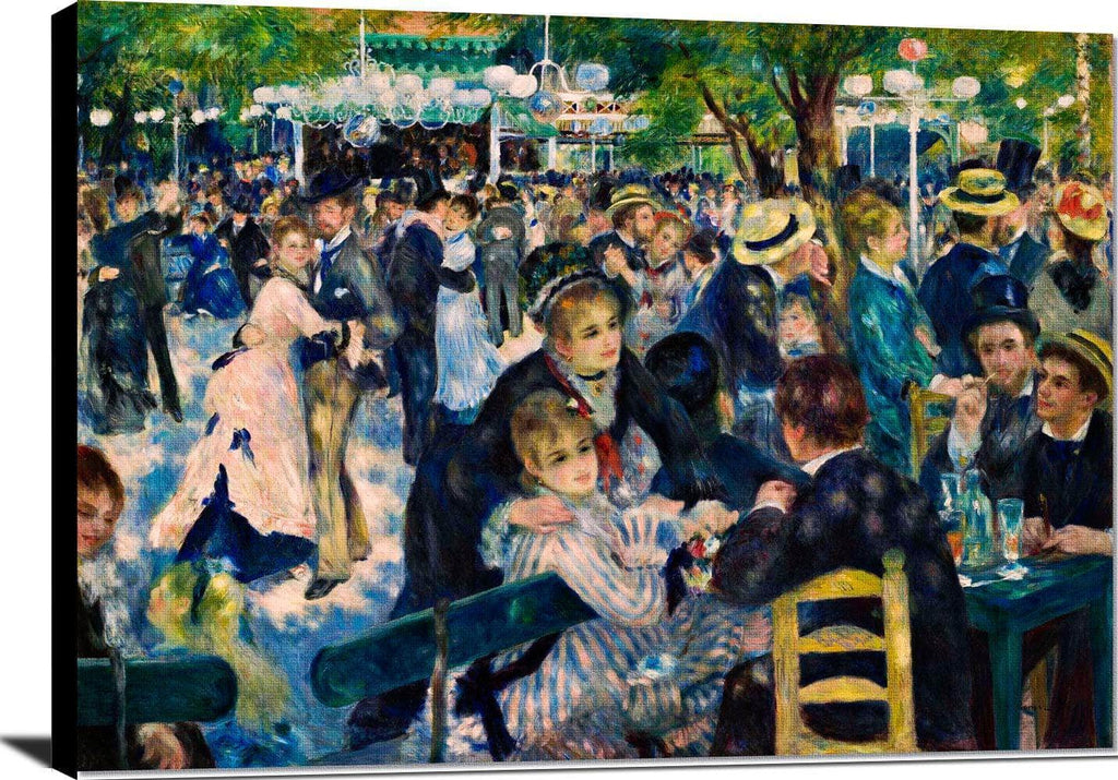 Le Moulin De La Galette Painting Auguste Renoir Canvas Art