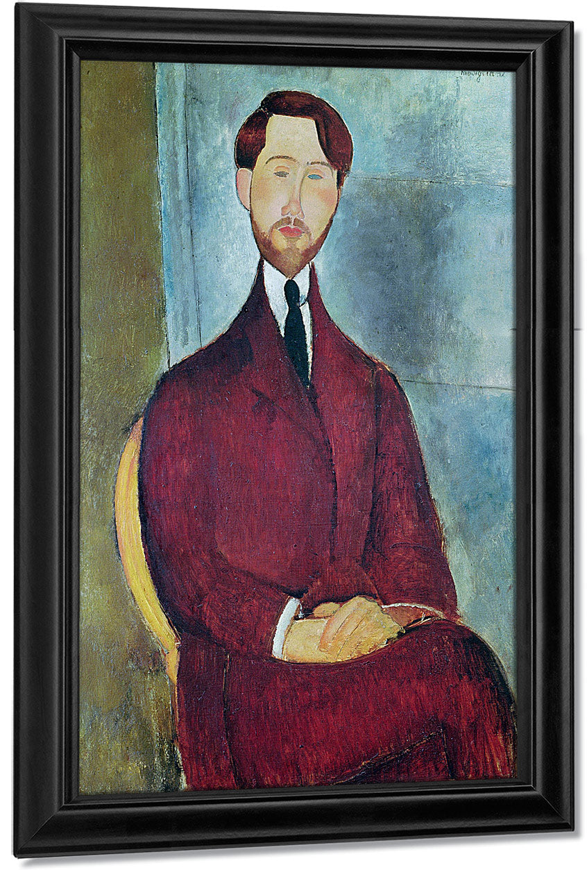 Leopold Zborowskia By Amedeo Modigliani