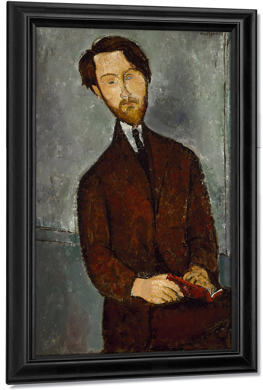 Leopold Zborowskib By Amedeo Modigliani