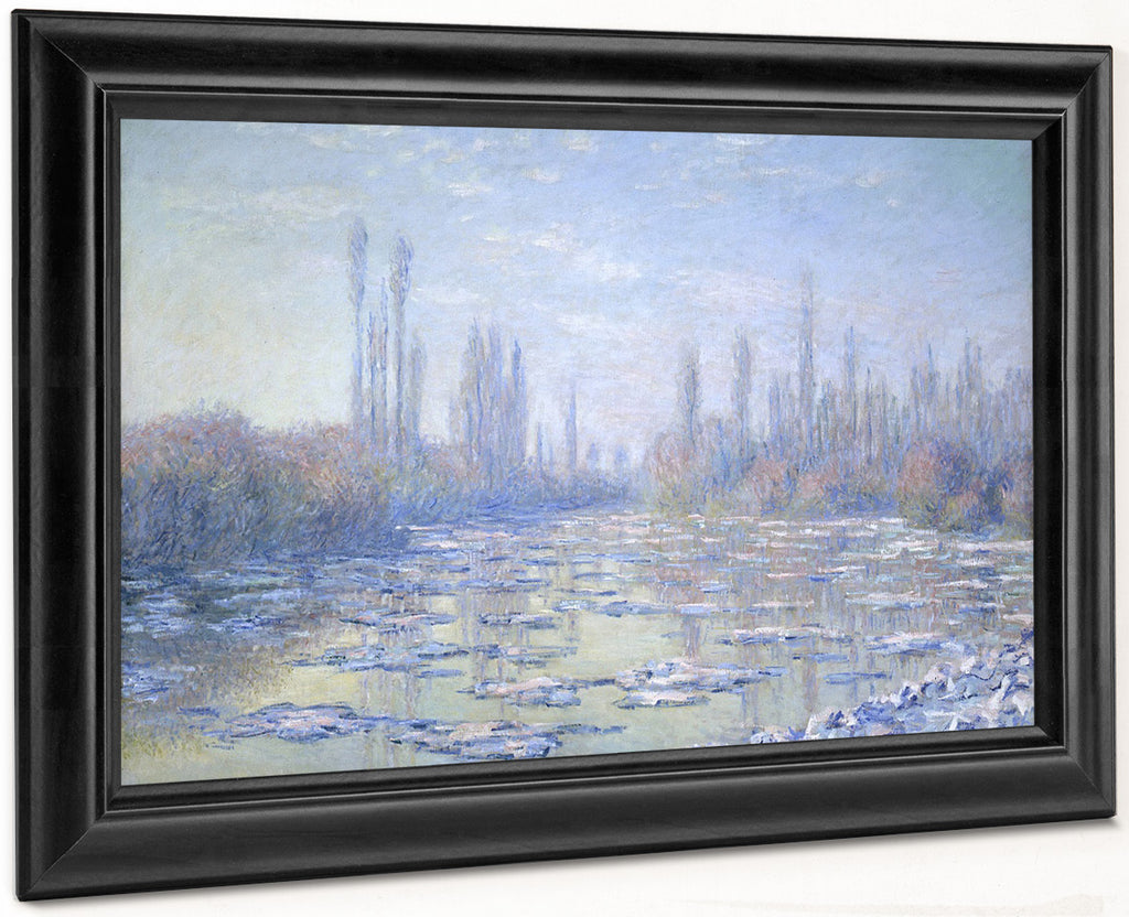 Les Glacons (The Ice Floes) 1 By Claude Monet