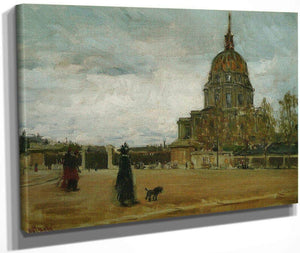 Les Invalides Paris 1896 By Henry Ossawa Tanner