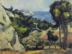 Lestaque By Cezanne Paul