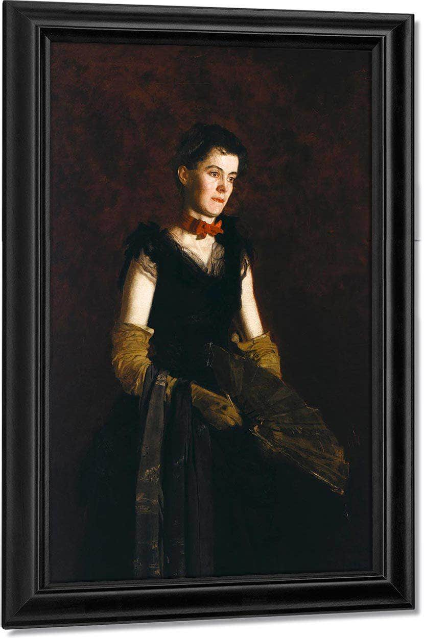 Letitia Wilson Jordan By  Eakins Thomas