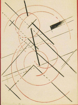 Lineare Composition 1919 By Liubov Popova