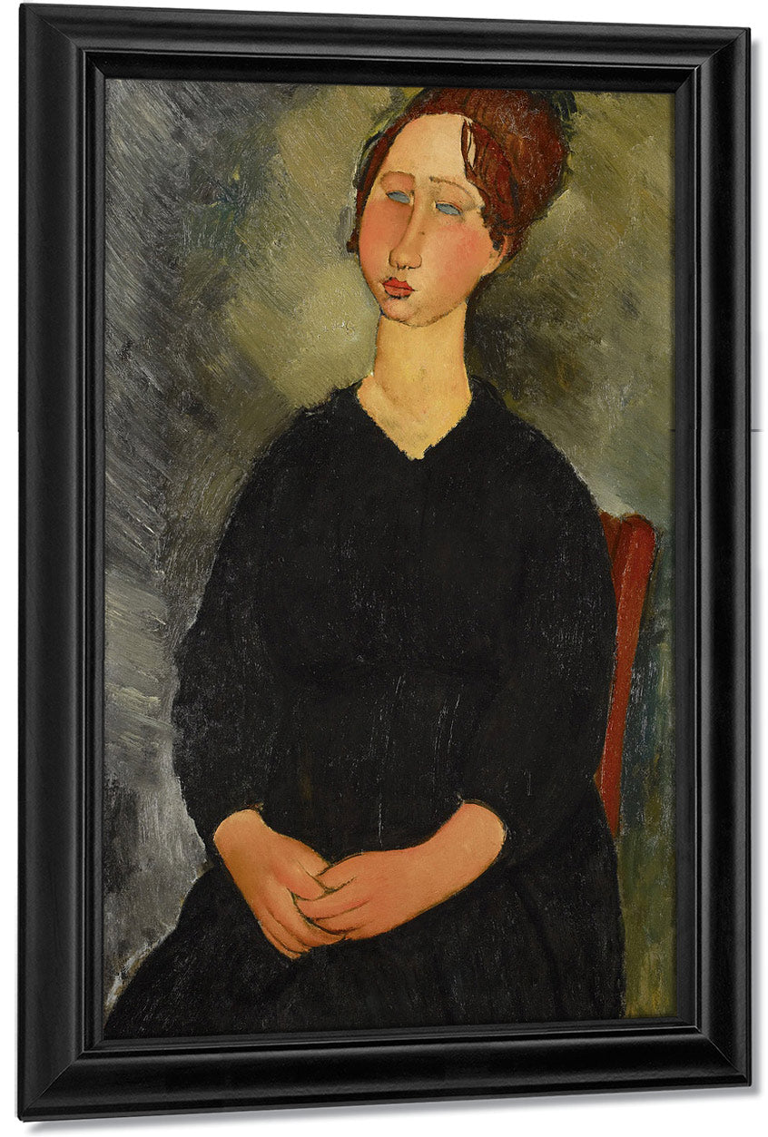 Little Servant Girl By Amedeo Modigliani